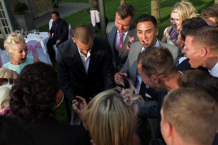 wedding magician kent